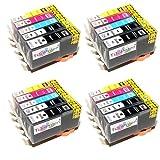 20x HP Photosmart Premium FAX C 309 A kompatible XL Druckerpatronen - Schwarz/Cyan/Magenta/Gelb - Patronen OHNE CHIP!!!