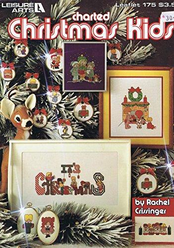 Weihnachten Kinder Kreuzstich Chart Buch Leisure Arts 29Designs Parabel 175 (Kreuzstich Leaflet)