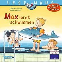 LESEMAUS 54: Max lernt schwimmen