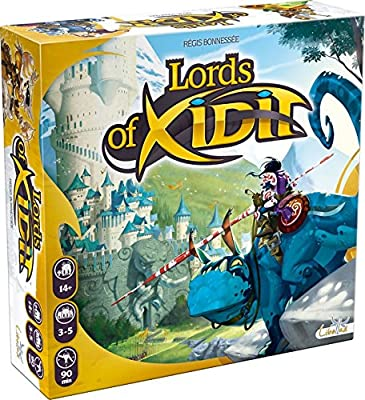 Asmodee - LOX01FR - Jeu de Stratégie - Lords Of Xidit