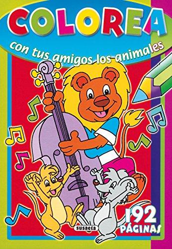 Colorea con tus amigitos los animales/ Color With Your Animal Friends