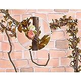 MMRM Künstliche Rebe Hängen Garland mit Blumen-Knospen-Hochzeits-Blätter für Haus Dekoration