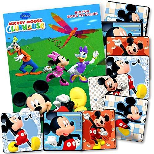 Mickey Mouse Malbuch Set mit Mickey Mouse Aufklebern Mickey Set