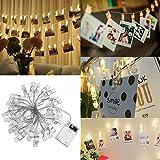 Best Ami Cases pour 3 personnes - LEDMOMO 30 LED Photo Clip Chaîne Lights 4M Review