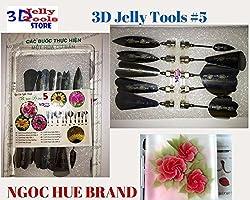 3d Gelatin Art Tools - Type 5 - 3d Jelly Cake Tools - 10 Pcs/set