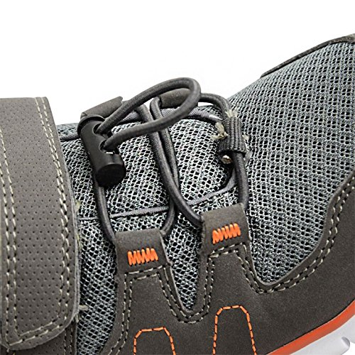Footwear Sensation ,  Unisex Kinder Kurzschaft Stiefel Grey Volt Orange