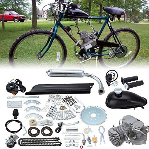 Ambienceo 80cc 2-Takt-Motor, der Luft-Gas-Motor Benzin - Fahrrad Motor Benzin