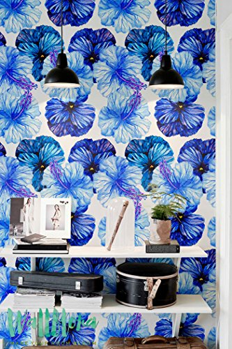 petunia-temporaneo-colore-blu-carta-da-parati-in-vinile-autoadesive-carta-da-parati-decorazione-da-p