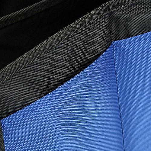 Organisateur de Coffre de Voiture Coffre de Rangement Voiture Compartiments 26 pouces accessoire voiture et Imperm/éable /à leau Bleu et Noir 2 en 1 Bag Pliable de Premi/ère Qualit/é avec R/églable