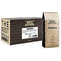 Note D'Espresso Arabica Miscela di Caffe Torrefatto in Grani - 2 kg (2 x 1 kg)