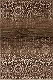 Lalee 347221844 Moderner Designer Teppich Muster Farbverlauf Neu Größe 160 x 230 cm , beige
