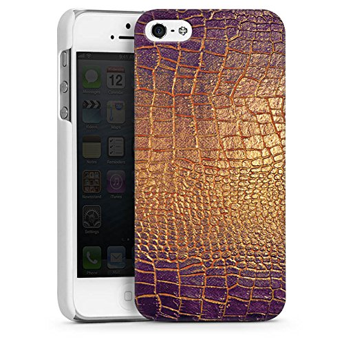 Apple iPhone 6 Plus Housse étui coque protection Peau de serpent Motif Motif CasDur blanc