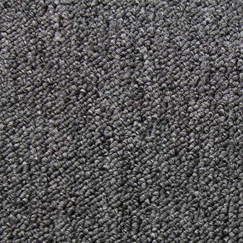 *20 Stück Teppichfliesen Bodenfliesen Teppich 50 x 50 cm Gesamtfläche 5 m² (Anthrazit)*