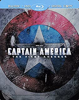 Captain America (Limited Steel Book) (Blu-Ray + DVD + Digital Copy) [Italy Import] (B006UP2W8C) | Amazon price tracker / tracking, Amazon price history charts, Amazon price watches, Amazon price drop alerts