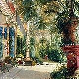 1art1 117626 Carl Blechen - Palmenhaus Auf Der Pfaueninsel