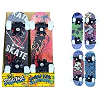 "Childrens Beginner Skater 16.5"" Double Kick Mini Outdoor Street Skateboard"