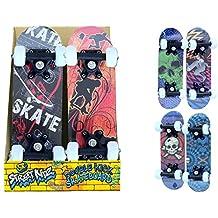 KandyToys Skateboard deux roues d'extérieur pour enfant débutant 41,9 cm