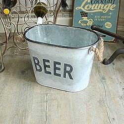 Cubo de metal 'Cerveza' Ice