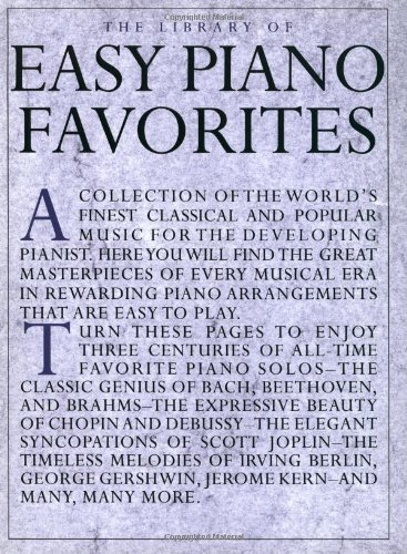 the-library-of-easy-piano-favorites-library-of-series