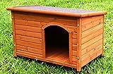 Captain Pet Cedro massello impermeabile cane casa porcellana piccole dimensioni Pet cuccia in legno