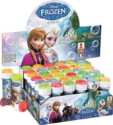 Fancy Me Box of 36 or 6 Bubble Pots - Boys Girls Disney Frozen Elsa Bubbles Party Loot Bag Stocking Fillers Garden Game Ideas (6 Pots, Frozen)