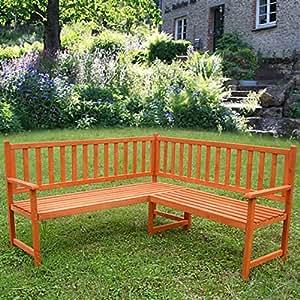 holz eckbank gartenbank holzbank sitzbank bank gartenm bel parkbank sitzgarnitur. Black Bedroom Furniture Sets. Home Design Ideas