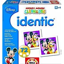 Educa - 14948 - Jouet Premier Age - Identic - La Maison de Mickey - 72 Cartes