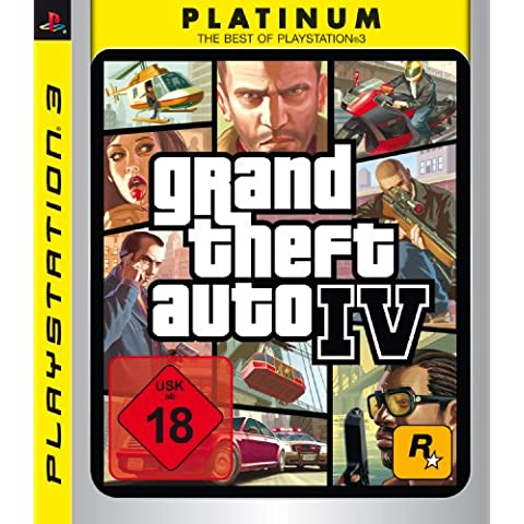 Take-Two Interactive Grand Theft Auto IV Platinum (PS3) - Juego (PlayStation 3, Acción / Aventura, M