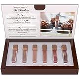 L'Oréal Paris MakeUp Cofanetto Regalo Les Chocolats, Formula Coprente al Sapore di Cioccolato, Confezione da 6 Tinte Labbra a