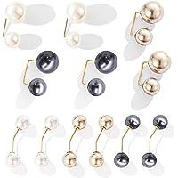 12 Pezzi Spilla con Perle Artificiali Donna Spille Perle Finte Spille da Balia Spille di Sicurezza Maglione con Looper…