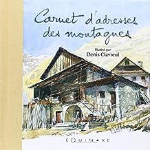 Carnet Adresses des Montagnes (Couverture Maison)