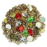 Brynnberg I Dekoset I Dekosteine Farbige Diamanten Goldmünzen Schatzsuche Gold