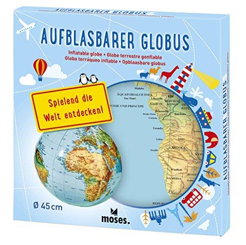 moses. 37535 Aufblasbarer Globus