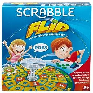 Mattel 55850-Scrabble Flip Juego