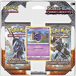 Asmodee-2pack01sl03-Pack 2Boosters Pokémon Sol & Luna 3-