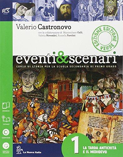 Eventi & scenari. Ediz. verde. Per le Scuola media. Con espansione online: 1