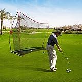 Ancheer Golf Netz, Trainingsnetz Chipping Netz im Garten mit 600D Oxford Tuch ,10*7*3f