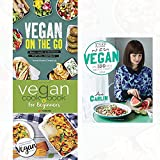 keep it vegan,vegan on the go [hardcover] and vegan cookbook for beginners 3 books collection set - keep it delicious & simple calorie counted with new vegan diet essential