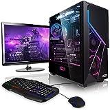 "Pack Gaming - Ordenador Gaming PC AMD Ryzen 5 3600 6X 3.60GHz • 24"" Full-HD • Teclado y ratón Gaming • GeForce GTX1660 6GB •"