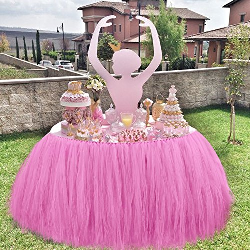 Ourwarm Tutu Tabella Gonna Tulle Tovaglia Wedding Baby
