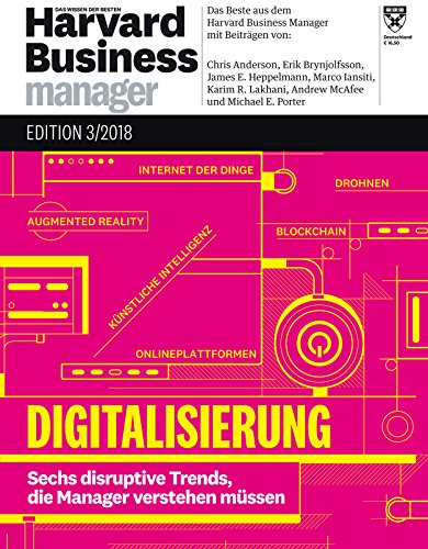 Harvard Business Manager Edition 3/2018: Digitalisierung