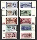 *** 5, 10, 20, 50, 100 DDR Mark Geldscheine 1964 Alte DDR Währung - Pick 22 - 26 - Reproduktion ***