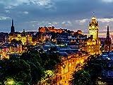 CALVENDO Puzzle Edinburgh bei Nacht 1000 Teile Lege-Größe 64 x 48 cm Foto-Puzzle Bild von Christian Müller