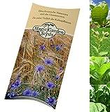 Kit de graines: 'Tabac à pipe' - 3 variétés de tabac pour créer vos propres mélanges de tabac à fumer, présentées dans une belle boîte-cadeau