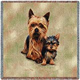 Best Yorkie Beds - Pure Country 1136-LS Yorkie Pups Pet Blanket, Canine Review