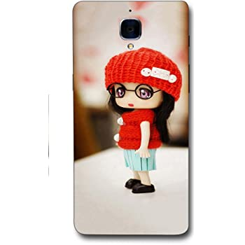 FROST IMAGES Silicon Printed Designer Back Cover for One Plus 3 / 3T