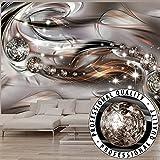 Vlies Fototapete 350x245 cm - 3 Farben zur Auswahl - Top - Tapete - Wandbilder XXL - Wandbild - Bild - Fototapeten - Tapeten - Wandtapete - Wand - Abstrakt Diamant a-A-0168-a-c