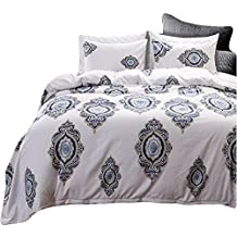 Black Temptation Inicio Impreso Lujo Soft Hotel Duvet Cover Set 2PC Twin Size #144
