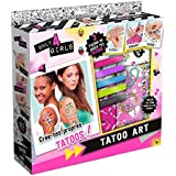 Canal Toys - CT28555 - Loisir Créatif - Only for Girls - Tatouage Art