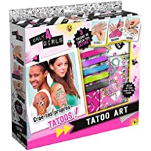 Canal Toys ct28555–Juego para crear–Only for Girls–Tatuaje Art